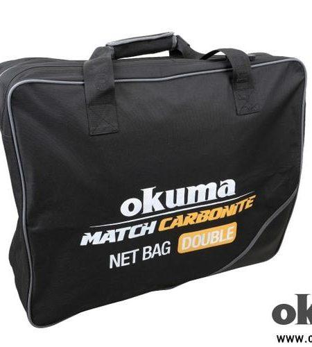 Okuma Match Carbonite merítőfej táska dupla