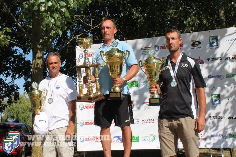 Szákovics Imre a 2018-as bajnok